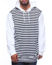 LRG - Line Up Hooded Henley (B&T)