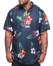 LRG - S/S Double Shots Polo (B&T)