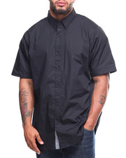 Big & Tall - S/S Solid Woven (B&T)-2202897