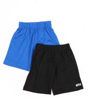Bottoms - 2Fer Stx Gym Shorts (2T-4T)-2202024