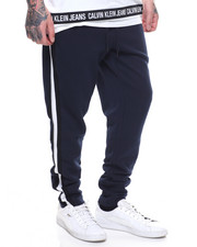 Global Movement Mens - CK CONTRAST RIB SWEATPANT-2203084