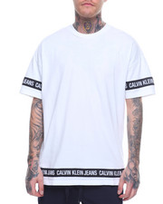 Global Movement Mens - LOGO TAPE OVERSIZED TEE-2202809