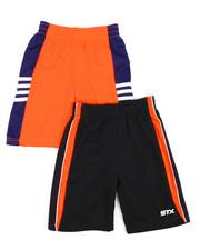 Bottoms - 2Fer Stx Gym Shorts (2T-4T)-2202036
