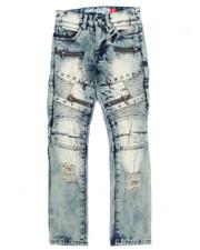 Jeans - Moto Studs Denim Jeans (8-20)-2203381