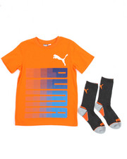 Sets - Graphic Tee & Crew Socks (8-20)