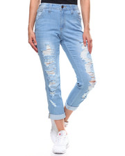 Dickies - Destructed Carpenter Cropped Boyfriend-2203889