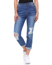 Dickies - Destructed Carpenter Cropped Boyfriend-2203907