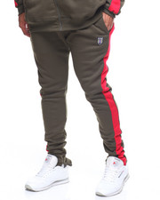 Sweatpants - Fleece Contrast Strip Sweatpant (B&T)-2204907