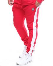 Sweatpants - Fleece Contrast Strip Sweatpant (B&T)-2204915