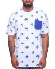 Shirts - S/S Crew Neck Printed Tees (B&T)-2204060