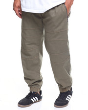 Akademiks - Mix Zip Trim Joggers (B&T)-2204889