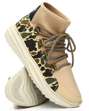 SNKR PROJECT - Lexington Camo High Top Sneakers-2205000