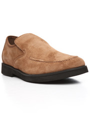 Hush Puppies - Suede Bracco MT Slip on Shoes-2202641