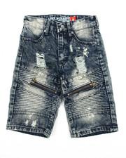 Jeans - Rigid Denim Shorts (8-20)-2204509