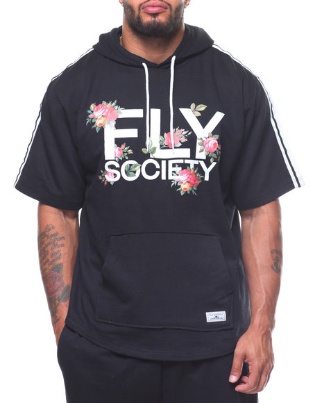 Fly Society - S/S French Terry Hood Taping (B&T)