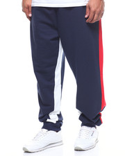Flysociety - S/S FT Jogger Color Block Side Stripe (B&T)-2206003