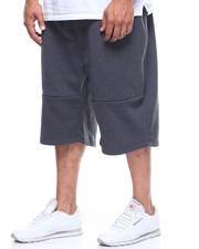 Shorts - Fleece Shorts w/ Zipper Details (B&T)-2206140