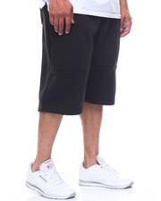 Shorts - Fleece Shorts w/ Zipper Details (B&T)-2206125