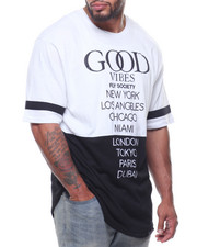 Flysociety - S/S Good Vibes Tee (B&T)-2206015