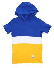 Hoodies - Color Block Anorak Hooded Tee (4-7)-2206113
