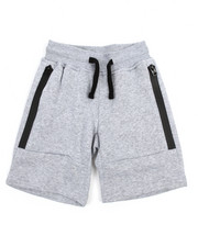 Boys - Tech Fleece Jogger Shorts W/zipper detail (4-7)-2205956