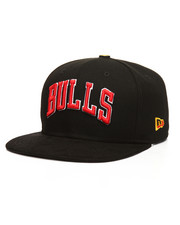 Men - Custom 9Fifty Bulls Snapback Hat-2205112