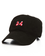 Dad Hats - Minnie Mouse Bow Dad Hat-2204450
