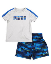Puma - 2 Piece Tee And Short Set (2T-4T)-2205777