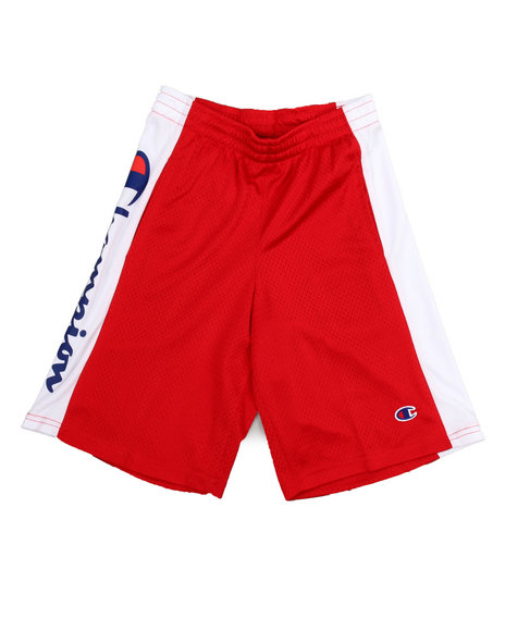 Champion - Embroidered Logo C Patch Mesh Shorts (8-20)