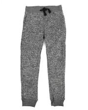 Sizes 8-20 - Big Kids - Marled Fleece Jogger (8-20)-2206237