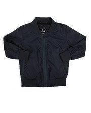 Outerwear - Printed Nylon Jersey Lined Jacket (4-7)-2205796