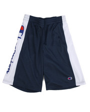 Sizes 8-20 - Big Kids - Embroidered Logo C Patch Mesh Shorts (8-20)-2205781