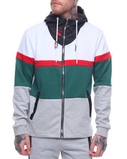 Hoodies - LAYERS COLORBLOCK TECH FLEECE