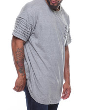 Phat Farm - Rip & Repair Long Scoop Bottom S/S Tee (B&T)-2206768