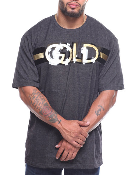 Akademiks - S/S Blessed Mesh Applique Tee (B&T)