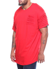 Phat Farm - Rip & Repair Long Scoop Bottom S/S Tee (B&T)-2206776