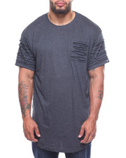 Phat Farm - Rip & Repair Long Scoop Bottom S/S Tee (B&T)-2206772