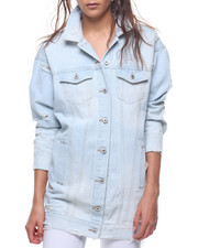 Outerwear - Oversized Denim Jacket