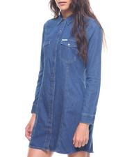 Dresses - Retro Luxe Indigo Dress-2207320
