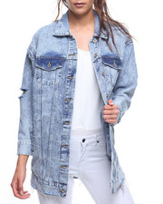 Outerwear - Oversized Denim Jacket-2207426