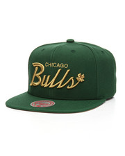 Mitchell & Ness - Chicago Bulls 4 Leaf Clover Snapback Hat-2206869