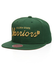 Mitchell & Ness - Golden State Warriors 4 Leaf Clover Snapback Hat-2206866
