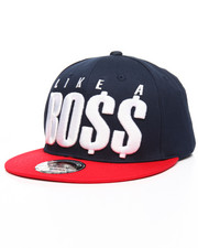 Men - Like A Boss Snapback Hat-2206899