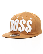 Hats - Like A Boss Snapback Hat