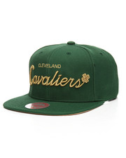NBA, MLB, NFL Gear - Cleveland Cavaliers 4 Leaf Clover Snapback Hat-2206871