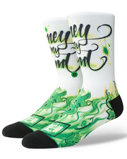 Accessories - Airbrush Money Socks