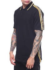 Men - METALIC TAPE POLO-2207698