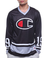 Athleisure for Men - Big C Hockey Jersey