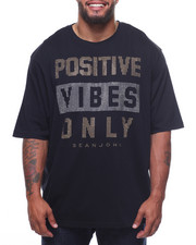 Sean John - Positive Vibes Only Stud Tee (B&T)-2208540