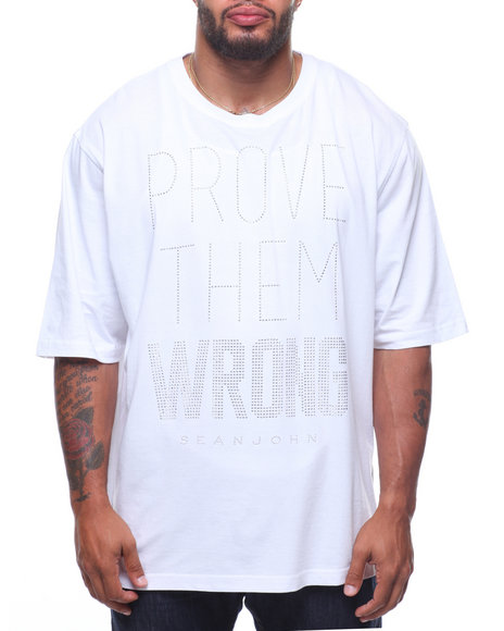29df58aa31 Buy Prove Them Wrong Stud Tee (B T) Men s Shirts from Sean John ...